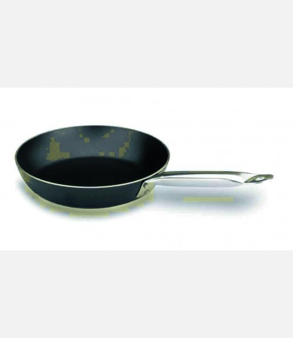 FRYING-PAN ROBUST PLUS ALUM. D.32 CM.