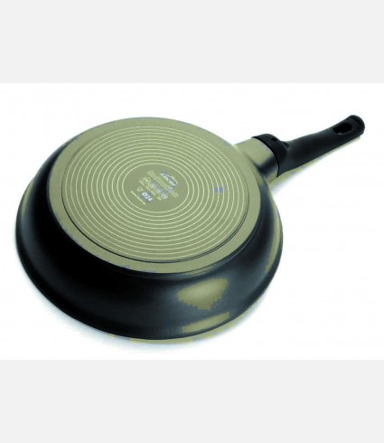 CAST ALUMINIUM INDUCTION FRYPAN D.26 CM