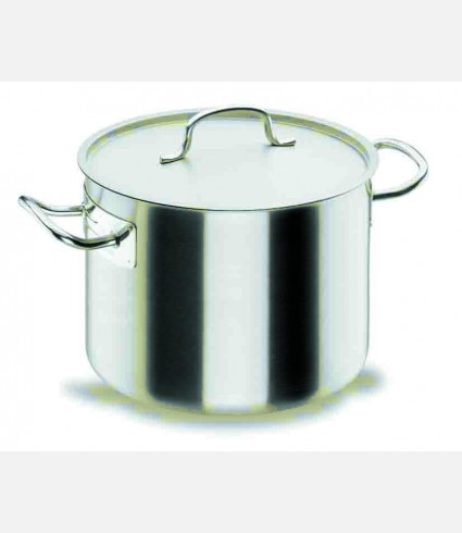 SHORT STOCK POT D.24 CM CHEF-INOX