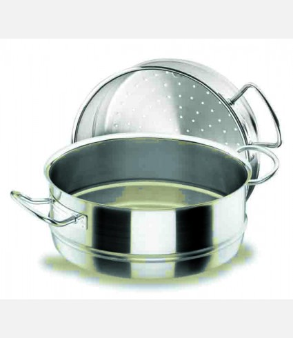 STEAM CASSEROLE D.28 CM. CHEF INOX