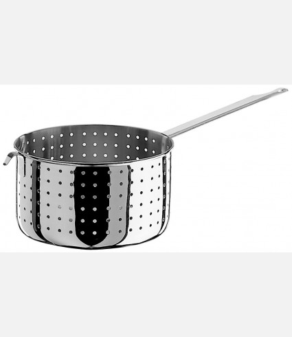 Colander with 1 handle and hook
