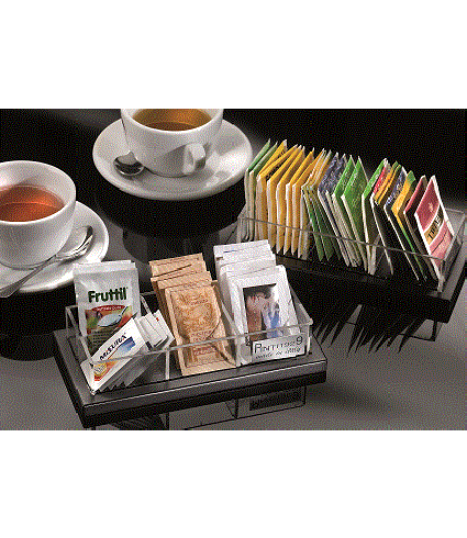Serving sugar/tea display