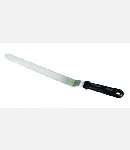 ST.STEEL BOWED LONG SPATULA 20 CMS.