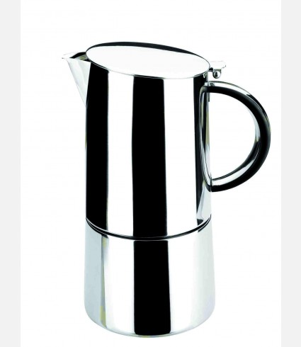 ST.STEEL MOKA EXPRESS COFFEE POT 10 CUPS