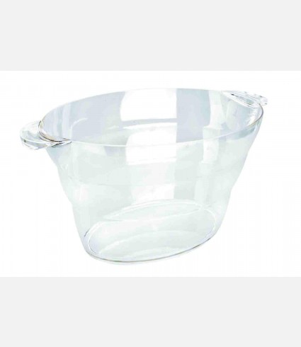 ACRYLIC WINE COOLER LARGE BOWL 13 LTS.