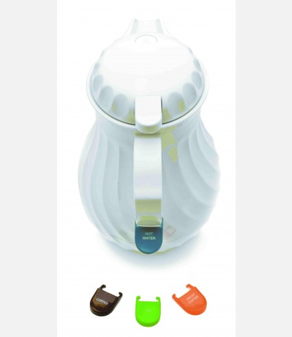 POLYCARBONATE THERMO JUG. 0,6 LTS