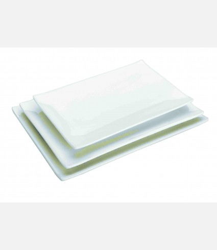 MELAMINE RECT. TRAY 300X208X23 MM.