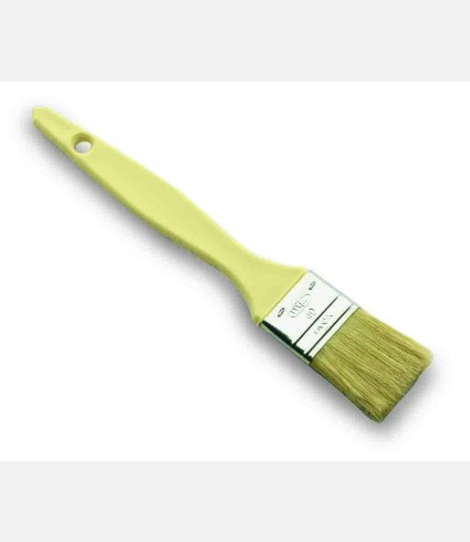 FLAT PASTRY BRUSH S.STEEL-POLYPROPYLENE