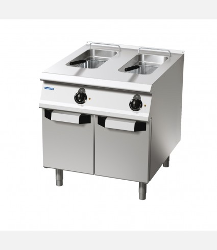 2-BASINS ELECTRIC DEEP FAT FRYER 15 LTS