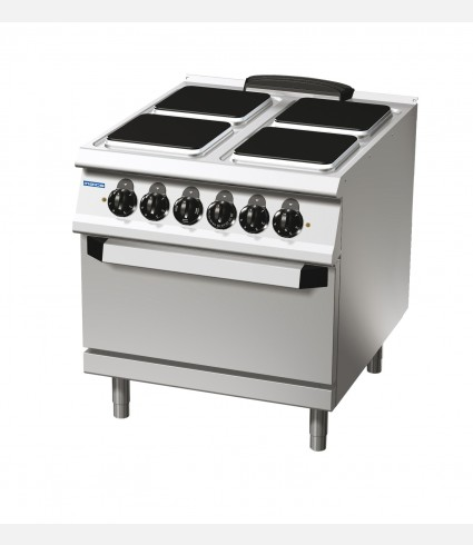 4-SQUARE-HOTPLATE ELECTRIC RANGE ON ELECTRIC OVEN