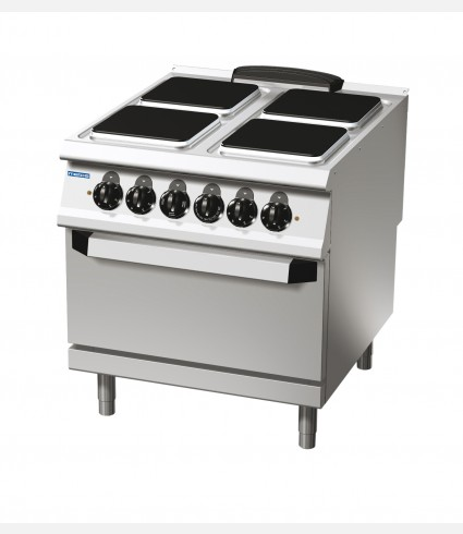4 SQUARE HOT P[LATE ELECTRIC RANGE WITH ELECTRIC OVEN