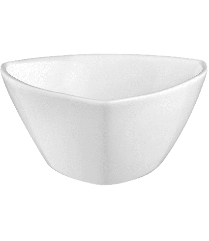 Bowl triangular