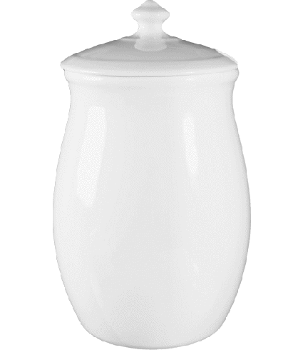 Dressing pot with lid