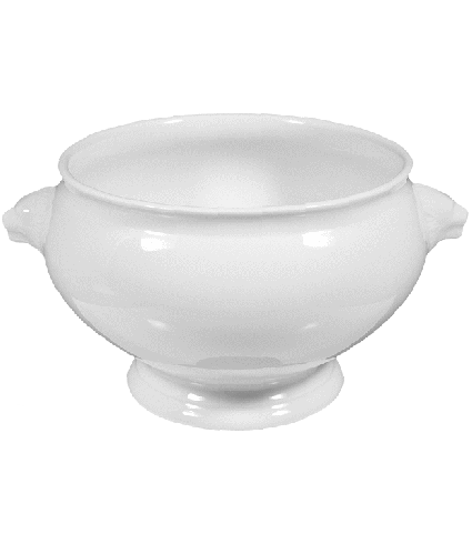 Lion head tureen without cover