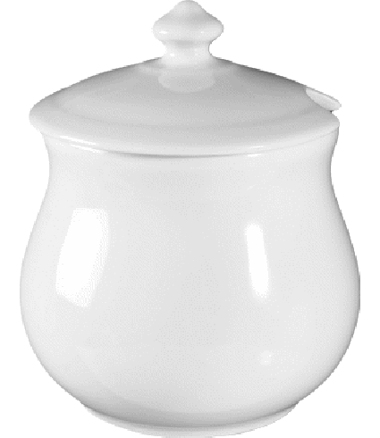 Jam pot with lid