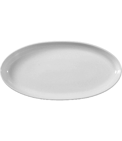 Platter oval Coup (narrow)