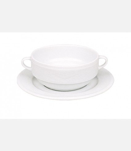 Consume Cup & Saucer-STR 18 KT 00