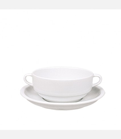 CONSOMME CUP & SAUCER-EO17KT00