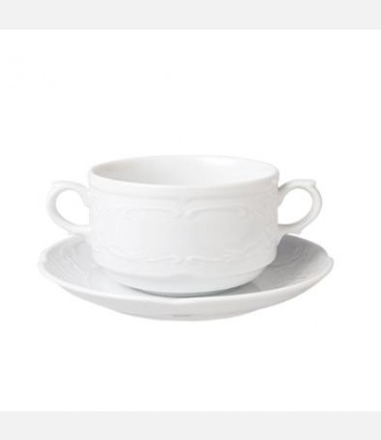 FLO10KS00-CONSOMME CUP & SAUCER