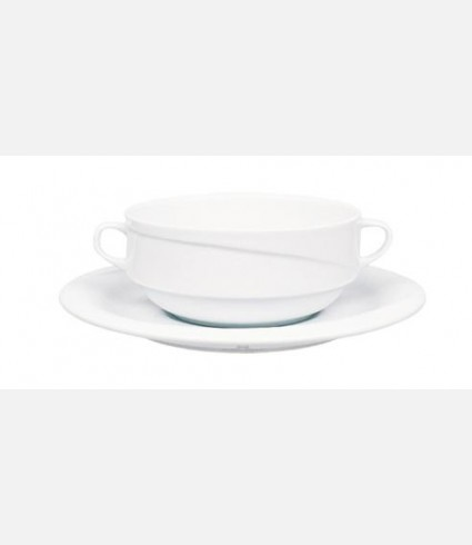 XT19KT00-CONSOMME CUP & SAUCER