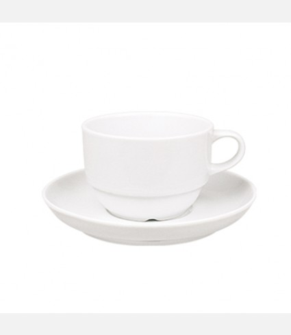 CUP & SAUCER-EO CT 00