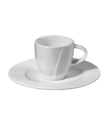 Coffee saucer non stack. 17,1 cm
