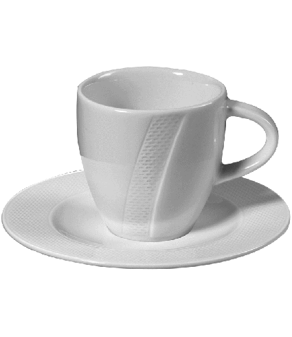 Mug with hdl. Non stack. 0,30 ltr.
