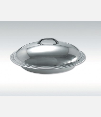 C 0062 TG / Thermic Oval Food Container, Smooth Cover