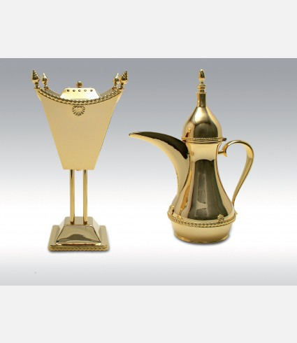 C 0848 BD / Censer with large border and shell decor