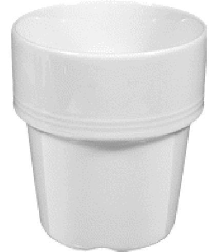 Milk mug small  0,22 ltr.