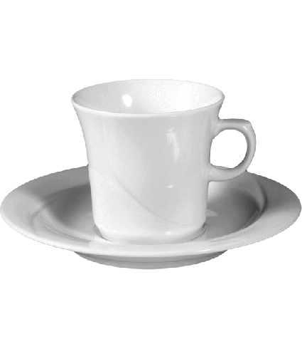 Coffee saucer non stack. 16 cm