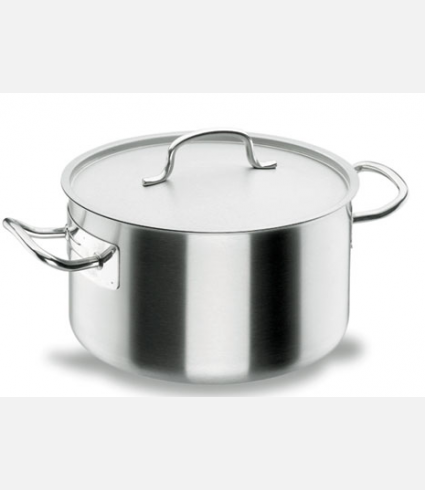 SHORT STOCK POT D.16 CM CHEF-INOX