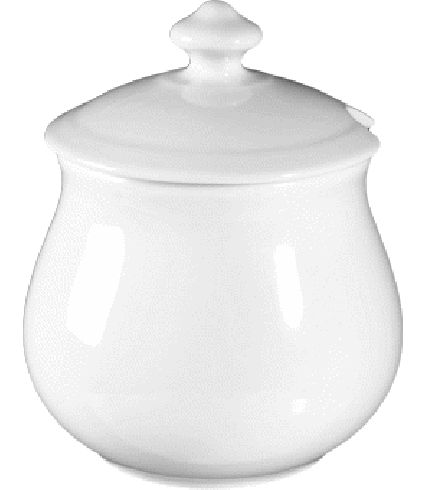 Jam pot with lid  0,55 ltr.