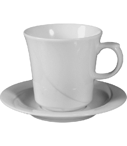 Coffee saucer non stackable  16 cm*