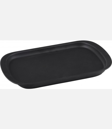 Service Dish, Rectangular, 32x20cm. Color:Black