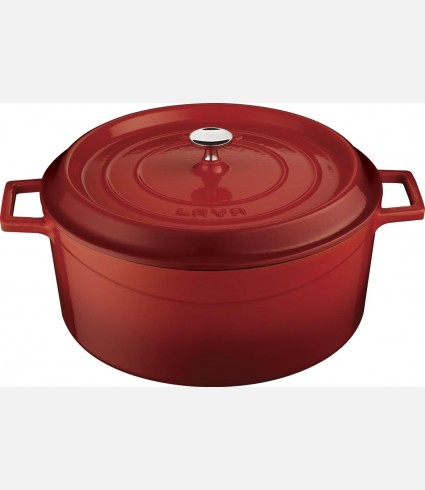 Cast Iron  Round Deep Casserole