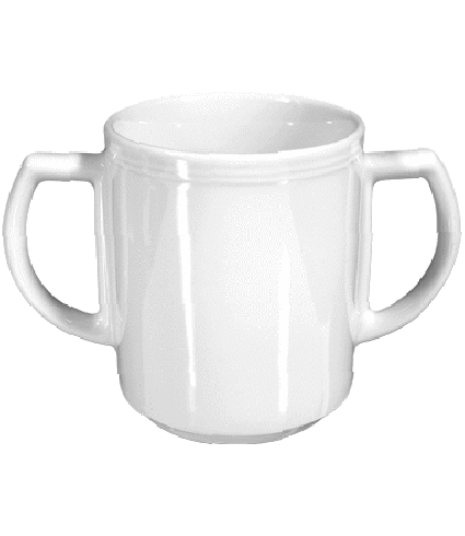 Mug with two handles  0,30 ltr.