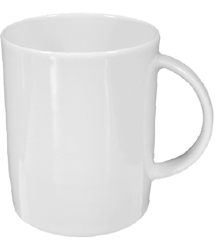 Mug with handle 0,25 ltr.