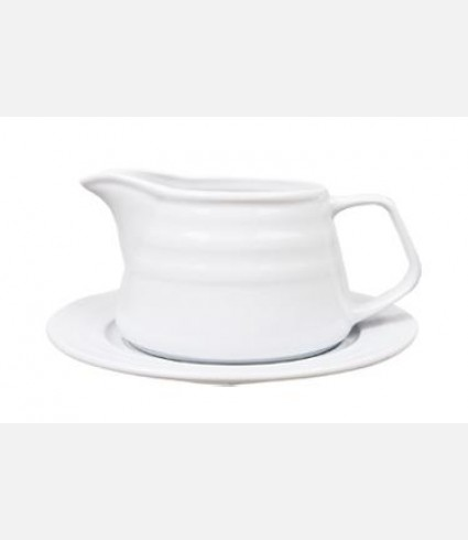 LIZ13SO00-SAUCE BOAT & SAUCER