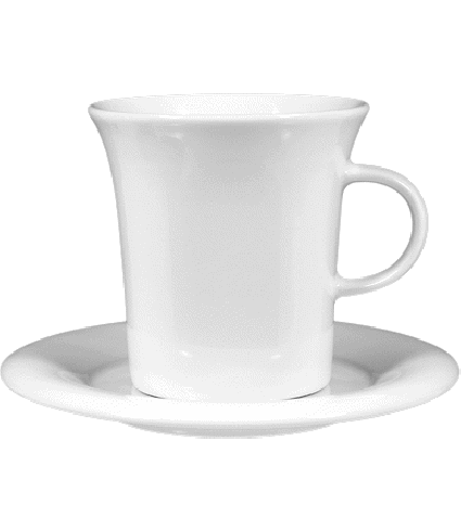 Coffee cup non stack.  0,37 ltr.