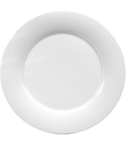Plate flat with rim  33 cm