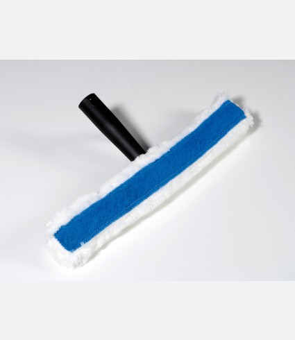 Window washer with abrasive strip complete 45cm