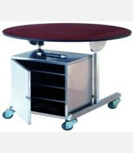 Room Service Trolley with Electric heated warmer