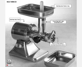 Meat mincer Hendi 12