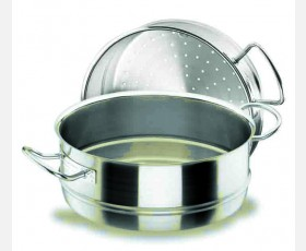 STEAM CASSEROLE D.32 CM CHEF-INOX