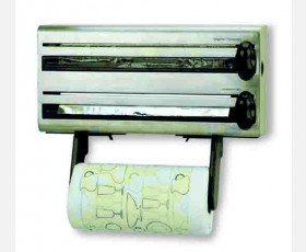 MULTIROLL DISPENSER FOR KITCHEN ST.STEEL