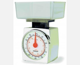 CHROMED BODY KITCHEN SCALE 1 KG.GRAD 5 G