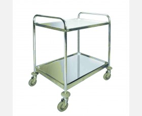 DISMANTLED SERVICE TROLLEY 2 SHELVES 80x