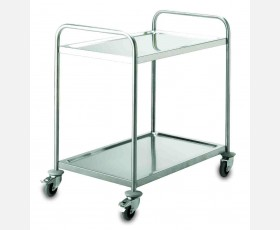 SERVICE TROLLEY 2 SHELVES 51 X 83 CMS.