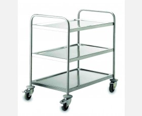 SERVICE TROLLEY 3 SHELVES 51 X 83 CMS.